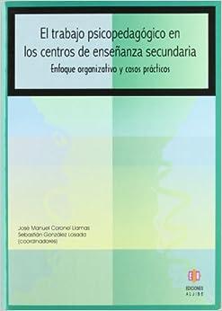 Book El Trabajo Psicopedagogico en los Centros de Ensenanza Secundaria (Coleccion Orientacion)
