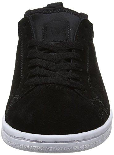 Magnolia Negro Mujer DC Se Black White Para Shoes Zapatillas O15UxwRx