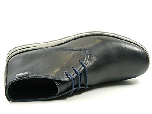 Pikolinos M8E-8092 Leon Botas con cordones de cuero para hombre Blau