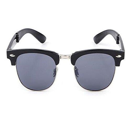 Classique pour Femme Anti Rtero fatigue Cadre Anti soleil Lunettes C2 Homme Des Hzjundasi de de Plier Portable lunettes soleil et Charnière Mode UV 0w5UqY6
