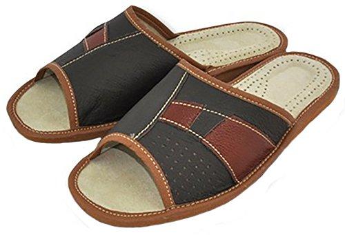 V Chaussons Pantoufles Cuir V Cuir Pantoufles Chaussons Pantoufles Chaussons q8qBP