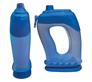 Best Sports Water Bottles! Hydro, Balanced Hydration System - Perfect for Running, Walking, Hiking or Exercising with FREE Optional & Removable Weight Attachments