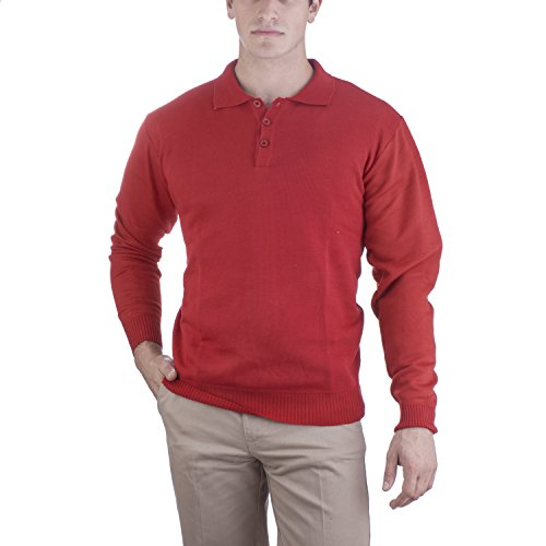 Alberto Cardinali Solid Three Button Sweater product image