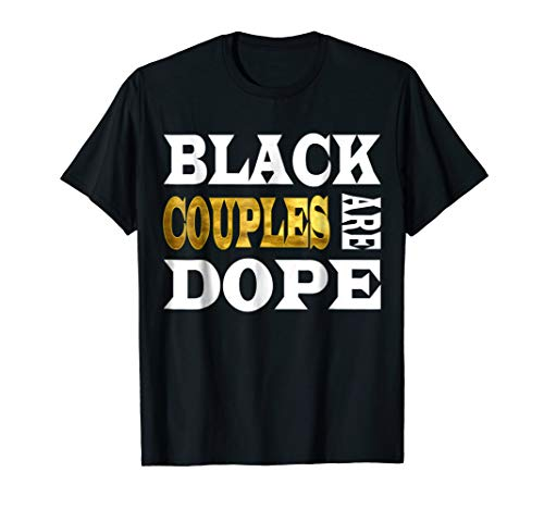 Mens Funny Black Couples African American Humor T-Shirt Medium Black