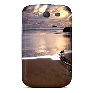 Awesome Phonedecor Defender Tpu Hard Case Cover For Galaxy S3- Stormy Sunset