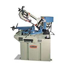 "Baileigh BS-260M Hydraulic Dual Mitering Gear Driven Band Saw, 1-Phase 220V, 1.5hp Motor, 1"" Blade, 8.93"" Round Capacity"