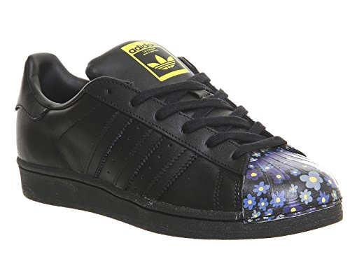 Superstar adidas para Supershell Negro Pharrell Azul Hombre Zapatillas drnxrq