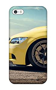 AnnaSanders Case Cover Protector Specially Made For Iphone 5/5s Yellow Bmw M3 Bonnet M Cars Bmw