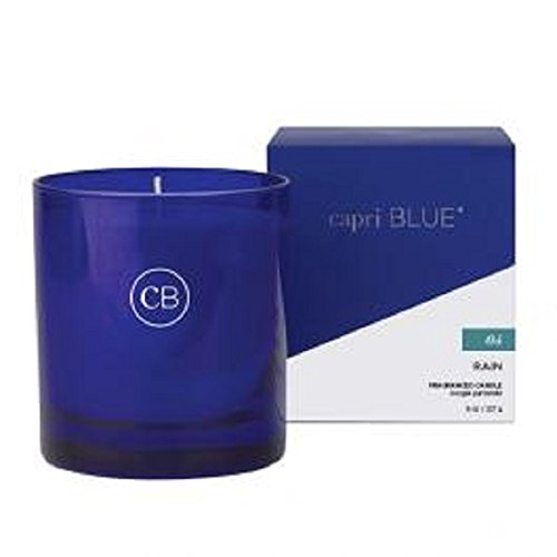 Aspen Bay Capri Blue 8 oz Rain Boxed Tumbler Candle No. 04