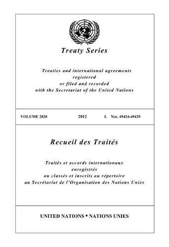 2820 Series - Treaty Series 2820 (English and French Edition)