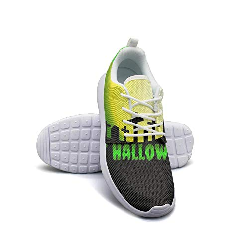 Kanf saysfg Scary Happy Halloween Pumpkin Fashion Running Sneakers for Women Lightweight Breathabl Sports Shoes]()