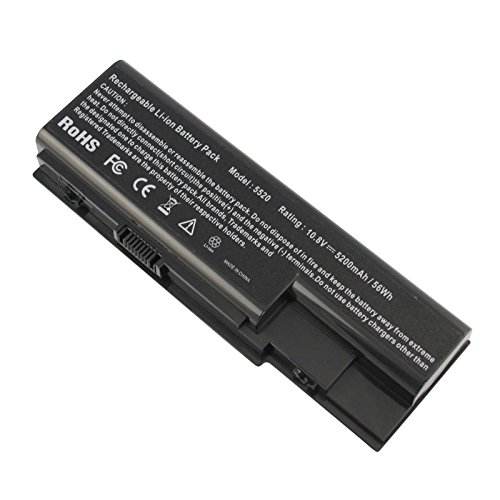 New 6 Cell 5200mah Laptop Battery for Gateway NV73 NV74 NV78 5920G NV79