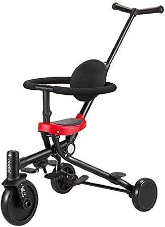 WLD Bicicleta para niños , Triciclo 'S para niños' Triciclo para niños S Artículos bidireccionales Pedal de bebé de 1-3-6 años La bicicleta plegable Cartwright para niños se puede usar como regalo 85