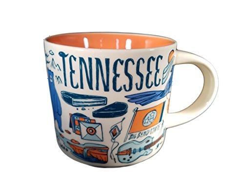 Starbucks Tennessee Coffee Mug Been There Series Across the Globe Collection