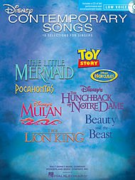 (Hal Leonard Disney Contemporary Songs for Low Voice Book/Online Media )