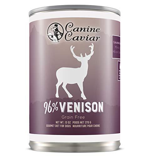 - Canine Caviar Canned Dog Food Venison Tripe Grain Free 96 % 13 oz (case of 12)