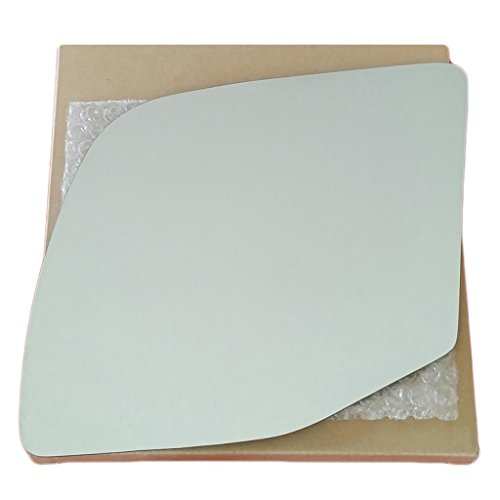 - Mirror Glass and Adhesive 92-07 Ford E150 E250 Econoline Van Driver Left Side Replacement - FITS POWER MIRROR ONLY