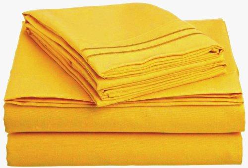 Clara Clark Sheet Double Yellow