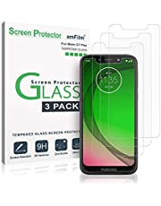 Moto G7 Play Screen Protector Glass, amFilm Tempered Glass Screen Protector for Motorola Moto G7 Play (3 Pack)