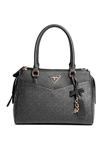 GUESS Factory Desire Logo-Embossed Box Satchel