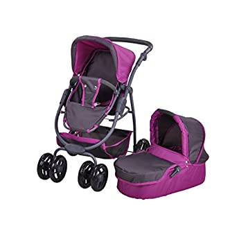 Amazon.es: Knorrtoys 90782 muñeca Carro Coco Tec Purple: Juguetes y juegos