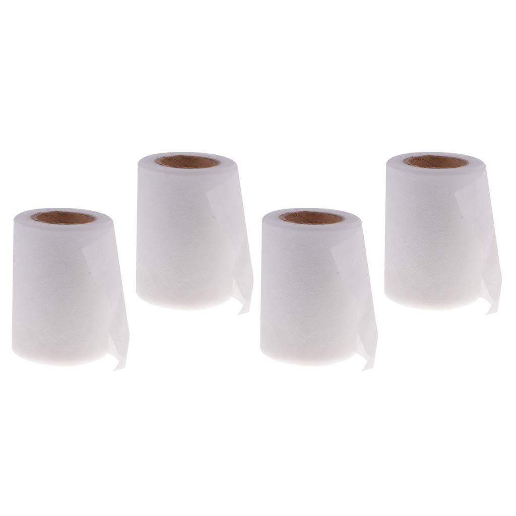Unbekannt Baoblaze 4X Witzige Toilettenpapier Klopapier Papierrolle Scherzartikel Spielzeug für Brautdusche und Hen Party