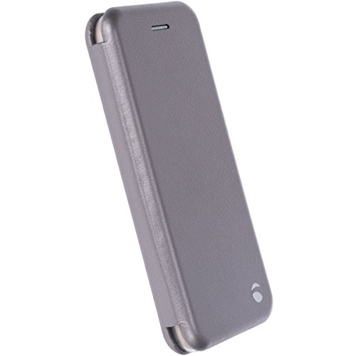 Krusell Orsa 4.7 Folio Negro - Fundas para teléfonos móviles (Folio, Apple, 11,9 cm (4.7), Negro) Plata