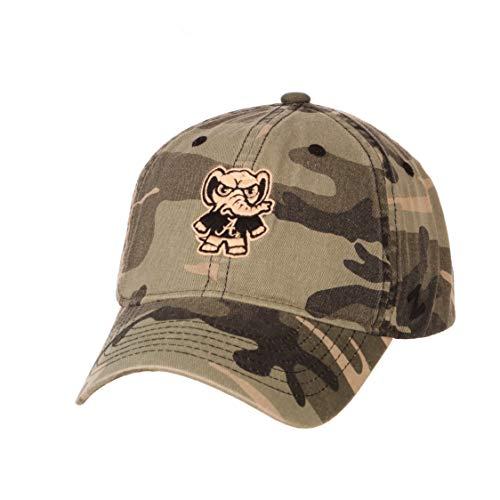 Zephyr NCAA Alabama Crimson Tide Mens HayashiHayashi Relaxed Cap, Camo, Adjustable