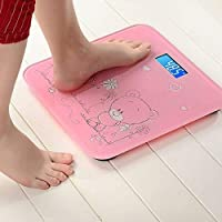 Jigva Vepson Glass Electronic Digital Weight Machine Bathroom Body Weighing Scale (Multicolour)