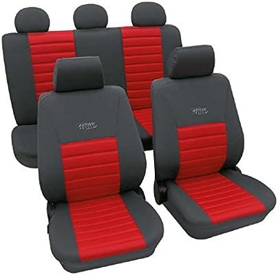 Activ Sports Rojo 3577 ya funda Asiento Auto Colchón Fundas para los vehículos especificado inferior: Amazon.es: Coche y moto