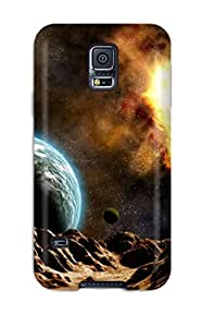 Hard Plastic Galaxy S5 Case Back Cover,hot Space Case At Perfect Diy