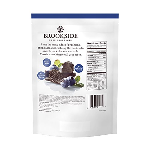 Review BROOKSIDE Dark Chocolate Candy,