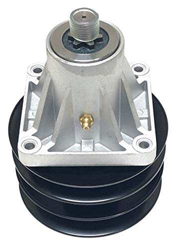Spindle Assembly Including Pulley (756-0969, 756-1187) For MTD Spindle Numbers: 618-0241, 618-0241, 918-0241A, 618-0241A, 618-0241B, 918-0241B, 618-0241C, 918-0241C, 618-0431 (A,B,C), 918-0431 (A,B,C): Toro 112-0383 - Housing Assembly Lower