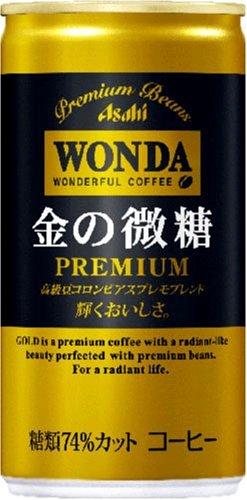 (お徳用ボックス) ワンダ 金の微糖 185g×30本