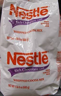 Nestle Whipped Cocoa Mix 1.5 Lb (12 Pack) by Nestle