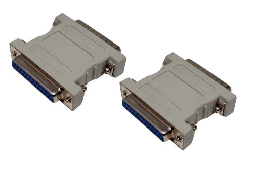 Changer Scsi Gender External (Data Storage Cables, p/n B580: External SCSI Adapter, DB25 Female - DB25 Female [Electronics])