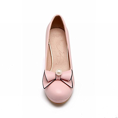 Chaussures Femmes Hauts À Latasa Sophrologue Talons Escarpins Rose gqTIXx