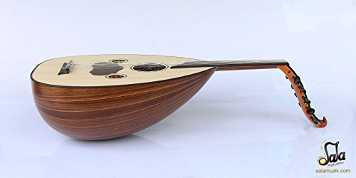 Turkish Quality Walnut String Instrument Oud Ud AO-107M by Sala Muzik