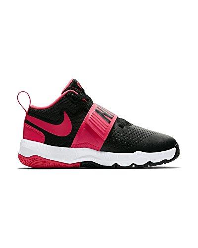 Pink White Black Basketball Ps Team Boys Racer Shoes NIKE D 8 Hustle C7TxwP