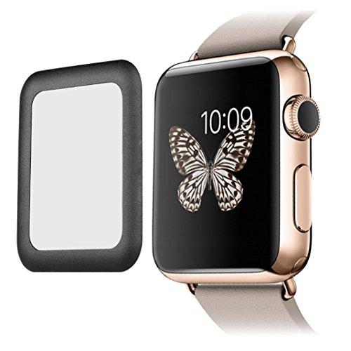 Aluminum Alloy Back Case for Apple Watch 42mm (Black) - 6