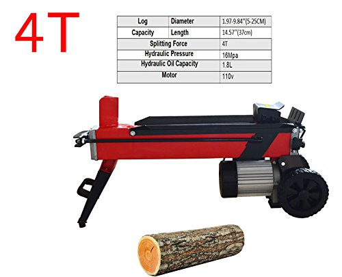 Log Splitter Electric Household Wood Splitting Machine FOR Splitting Log 4T by Tool
