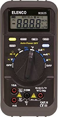 Elenco Auto-Ranging Digital Multimeter to 752 degrees F