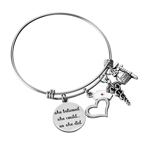 Miss Pink Graduation Jewelry Gifts for Nurse RN LPN LVN BSN (Nurse) ()