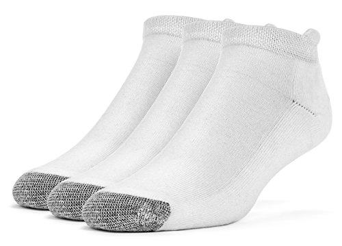 Galiva Womens Cotton Extra Soft No Show Cushion Running Socks - 3 Pairs