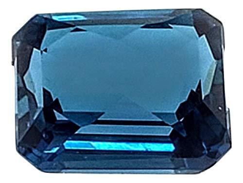 Jewels of New York London Blue Topaz Emerald Cut Oval Round Checker Board (Assorted Sizes) (12 x 10 Emerald Cut)