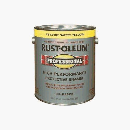 RUST OLEUM 7543402 Safety Yel Enamel