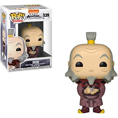 Funko Pop! Animation: Avatar - Iroh with Tea Toy, Multicolor: Toys & Games