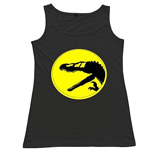Nubia Dinosaur Alternative Logo Fashion Waistcoat For Women's Black Size S