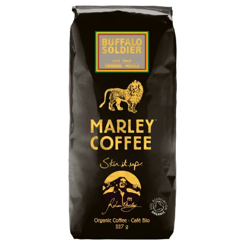 Marley Coffee Organic Dark Roast Ground Coffee - Buffalo Soldier 227g