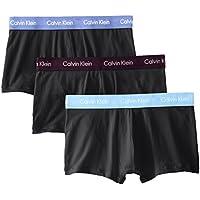 Men's Underwear Cotton Stretch 3 Pack Low Rise Trunks